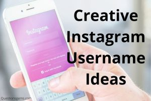 creative instagram username ideas