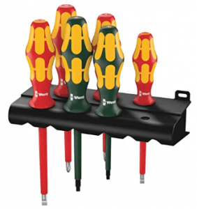electrician insulated screwdriver set