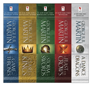 george rr martin books in order