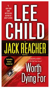 jack reacher books order