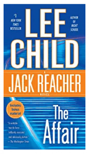 list of jack reacher books in order