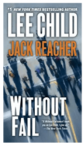 list of jack reacher books