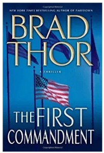 brad thor books in order list