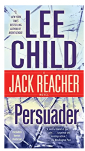 jack reacher books list