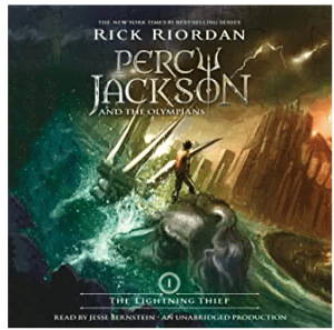 percy jackson books in order